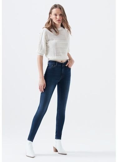 Mavi Tess Gold Hi Shape Tencel Jean Pantolon İndigo